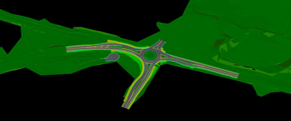 CAD Document ONE - Roundabout Geraldton WA