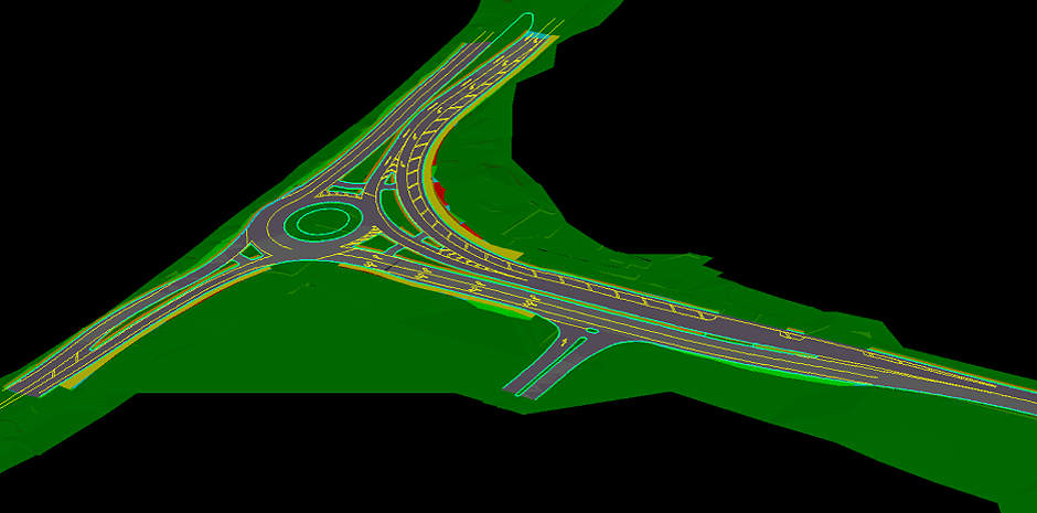 CAD Document ONE - Roundabout Middle Swan WA