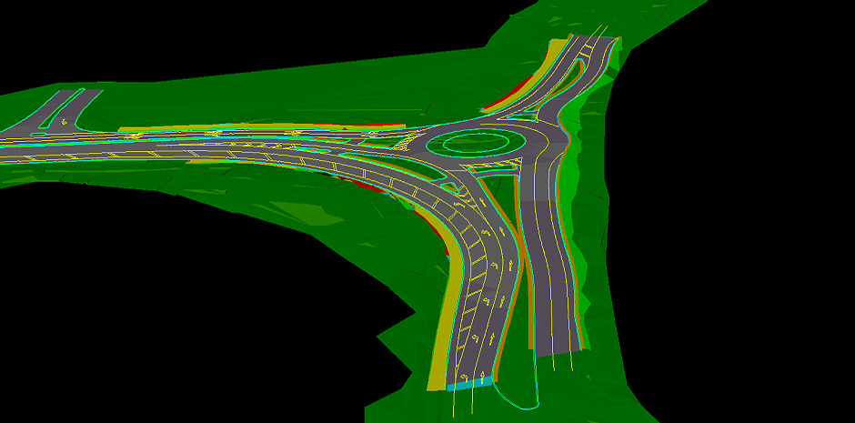 CAD Document TWO - Roundabout Middle Swan WA
