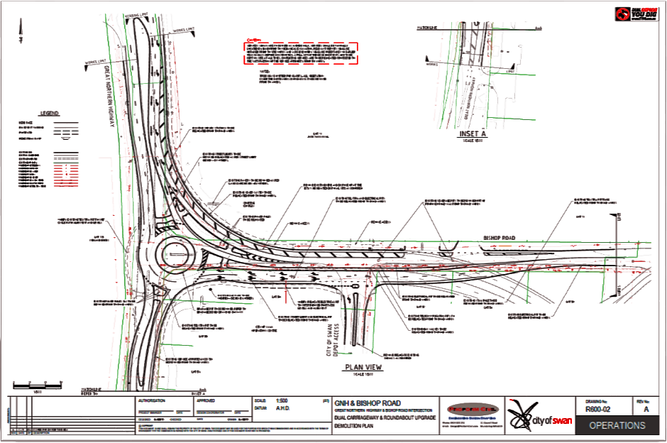 Plan ONE - Roundabout Middle Swan WA